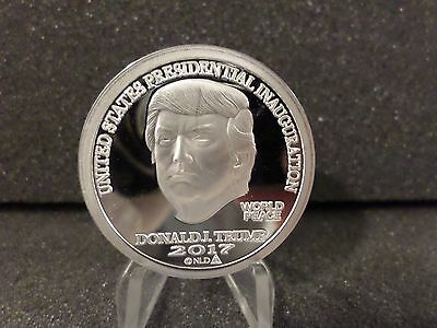 "2017 ""PROOF LIKE"" Inaugural Donald Trump 1 oz. Silver Round in Capsule"