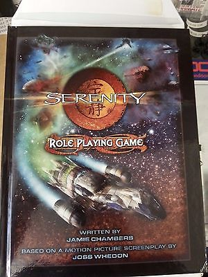 SERENITY ROLE PLAYING GAME. Firefly Joss Whedon. *VERY RARE* RPG OOP mint cond