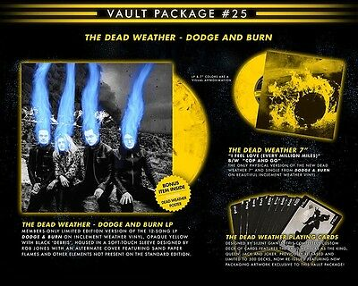Third Man Records Vault 25 The Dead Weather Jack White White Stripes