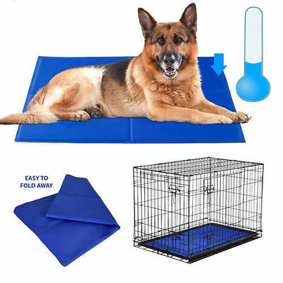 Rosewood Chillax Dog Cool Cooling Mat Pad Bed Hot Weather Hot Spots Travel Home