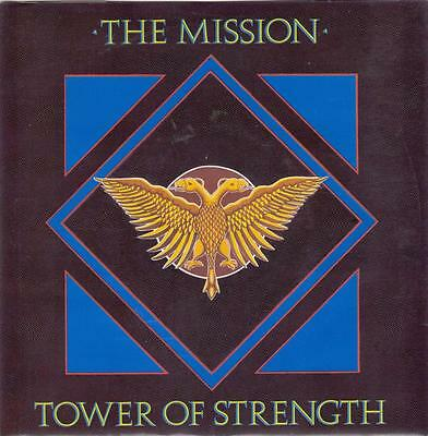 """The Mission - """"tower Of Strength"""" Uk 7"""" Picture Sleeve Single Myth 4"""