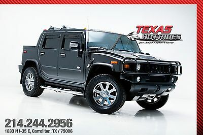 2007 Hummer H2 SUT 2007 Hummer H2 SUT H2T! Black/Black! Leather, Sunroof, 4WD! Upgrades! MUST SEE