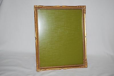 Vintage - Wood/Gold - 8 X 10 Frame with Glass