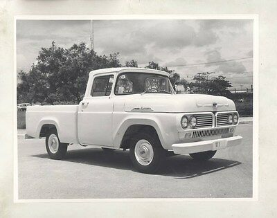 1958 1959 1960 ? Ford Brazil F100 Pickup Truck ORIGINAL Factory Photo wy0645