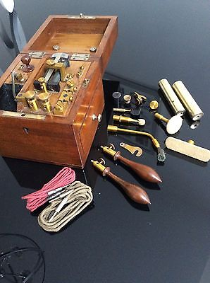 Victorian Electric Shock Therapy Machine- Early Example- Steampunk