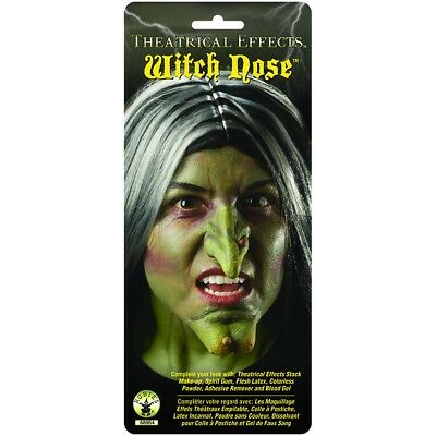 Witch Nose Prosthetic Appliance Costume Make Up FX Theatrical Special Effects