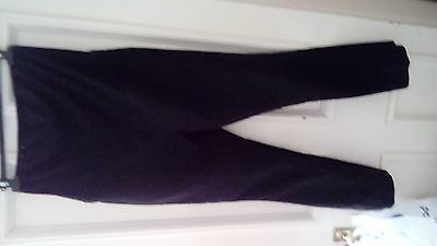 New look maternity black trousers size 10 workwear