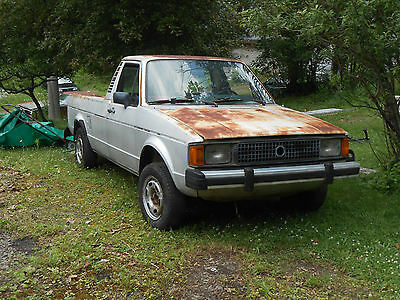 1983 Volkswagen Rabbit  1983 VOLKSWAGEN RABBIT PICKUP TRUCK CADDY