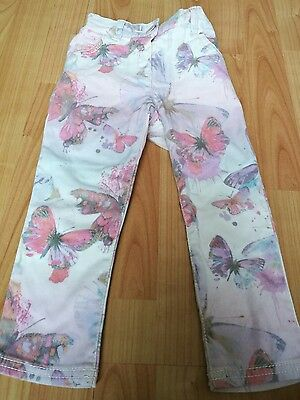 Next girls butterfly jeans age 18- 24 months VGC