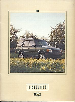 1994 Land Rover Discovery Sales Brochure