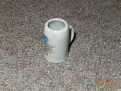 Miniature Porcelain Beer Stein From Bavaria ( A )