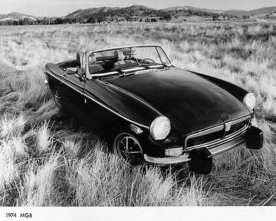 1974 MG MGB Factory Photo ca7146
