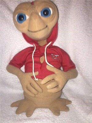 E.T. Plush Toy with red hoodie