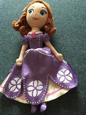 Sofia The First Soft Toy Disney Store