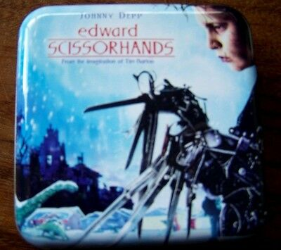 Collectable Edward Scissorhands Square Playing Cards In Tin