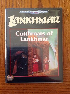 Advanced Dungeons and Dragons: Cutthroats of Lankhmar, Still Sealed