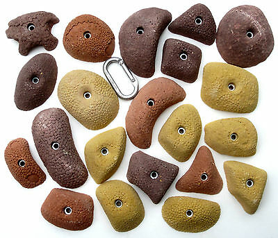 21 synrock bolt-on Climbing Holds Dragon Tex Pinches + Free Bolts