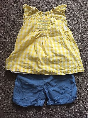 Marks And Spencer Baby Girls Outfit Size 18-24 Months