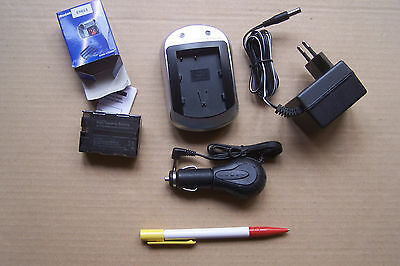 Photo Camera Acces. - BATTERIE+CHARGEUR / BATTERY+CHARGER set - EN-EL3 for NIKON