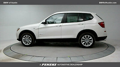2017 BMW X3 xDrive28i Sports Activity Vehicle xDrive28i Sports Activity Vehicle 4 dr Manual Gasoline 2.0L I4 DOHC 16V Alpine W