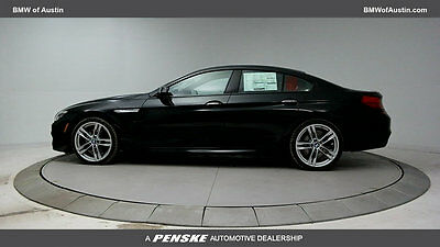 2017 BMW 6-Series 650i Gran Coupe 650i Gran Coupe 6 Series New 4 dr Automatic Gasoline 4.4L 8 Cyl Black Sapphire M