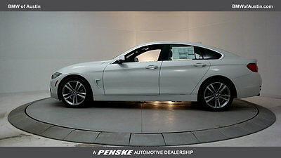 2017 BMW 4-Series 430i Gran 430i Gran 4 Series 4 dr Coupe Automatic Gasoline 2.0L 4 Cyl Alpine White