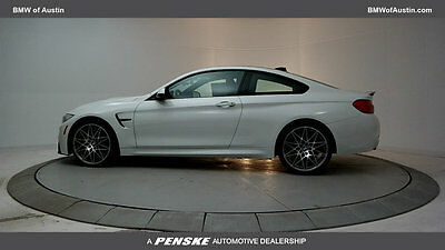 2017 BMW M4 M4 M4 New 2 dr Coupe Manual Gasoline 3.0L STRAIGHT 6 Cyl Alpine White