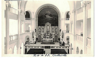 Canada Real Photo Postcard Hopital Sacre Coeur De Montreal Cartierville Chapelle