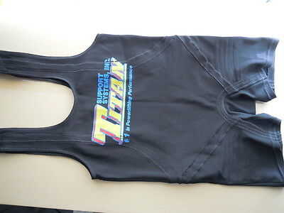 Titan Support Systems Powerlifting Centurion Squat Suit 36RS
