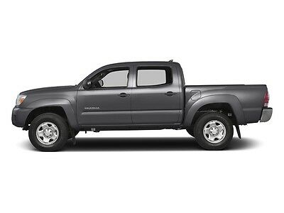2015 Toyota Tacoma 2WD Double Cab V6 AT PreRunner 2WD Double Cab V6 AT PreRunner 4 dr Truck Gasoline 4.0L V6 Cyl  GREY