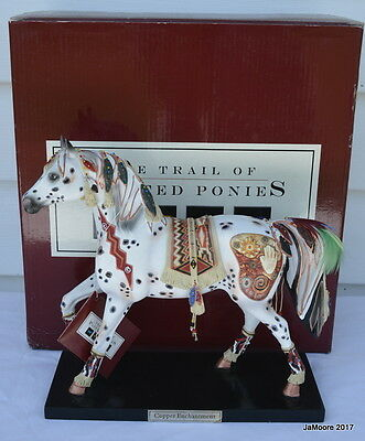Trail of Painted Ponies Lrg. COPPER ENCHANTMENT Limited Edition -0910/5000