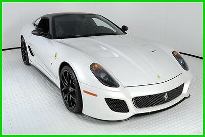 2011 Ferrari Other  2011 FERRARI 599 GTO, ONE OWNER, BIANCO ITALIA,2,542 MILES, FERRARI APPROVED CPO