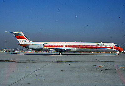 Psa -Md-80 -N945Ps -Kodachrome Slide Airline