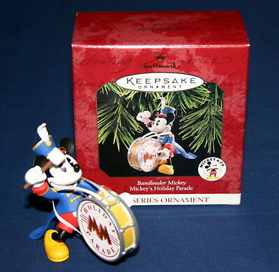 Hallmark Ornament 1997 Bandleader Mickey # 1 In  Series