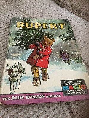 Rupert Bear Annual 1965 Price Intact And Magic Paintings As New