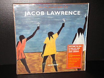 VINTAGE ART ED BOOKS AND KIT JACOB LAWRENCE COLLECTIBLE Janet Boris BRAND NEW