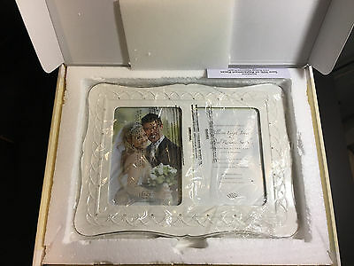 """Lenox Picture Frame, Bliss Double Invitation 5"""" x 7"""" (Writing On Box)"""