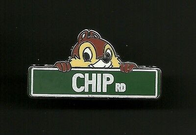 Chip Road Street Sign from Chip and Dale Splendid Disney Pin
