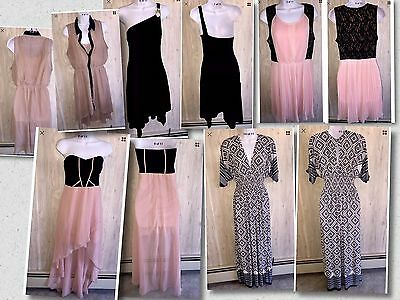 LOT of 5 Women Dresses Different Brands( Charlotte Russe)Size L