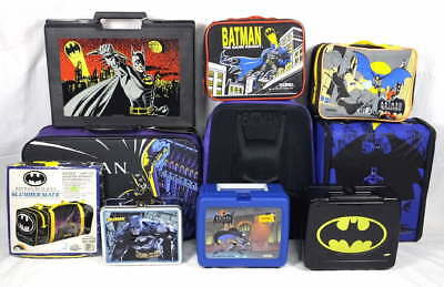 Lot DC Comics Batman Luggage Lunchboxes Backpack Locker w/Stickers Notebooks NEW