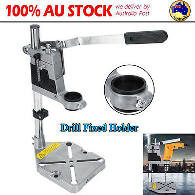 Universal Drill Press Stand Holder W/ Heavy Duty Frame + Cast Metal Base 38-43mm