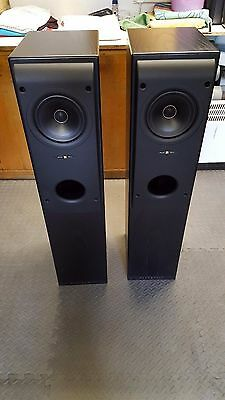 KEF Reference Model TWO Speakers - Matched Pair - Black Ash