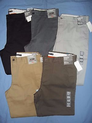 Dockers Men's Easy Khaki Straight Fit Flat Front Dress Pants Nwt - 3706