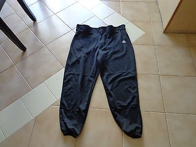 Adidas Mens Size XL Pants Black Climalite Baseball Softball Pants