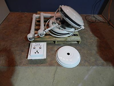 Skytron Infinity IF22 Dual Surgical Light Set with Controller