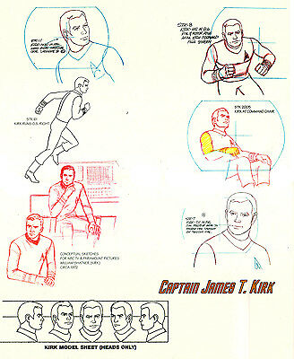 Star Trek - The Animated Series Captain James T Kirk Lithography Limited Edition