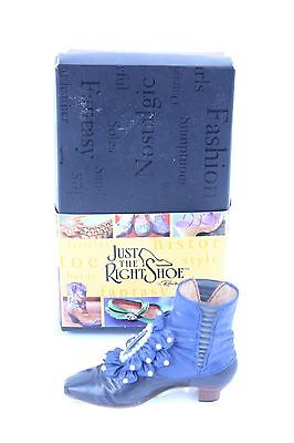 """Nice Raine Just The Right Shoe """"victorian Ankle Boot"""" W/ Box & Paperwork Lot #29"""