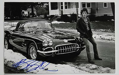 Bruce Springsteen JSA Signed Autograph Photo The River Born To Run Book
