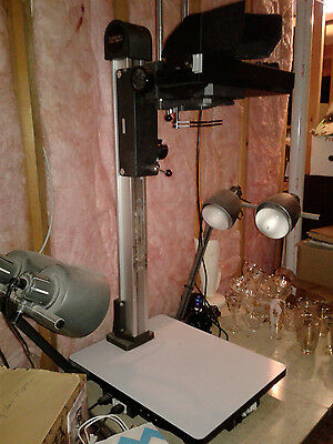 Polaroid MP4 Land Camera Table Stand with Lights