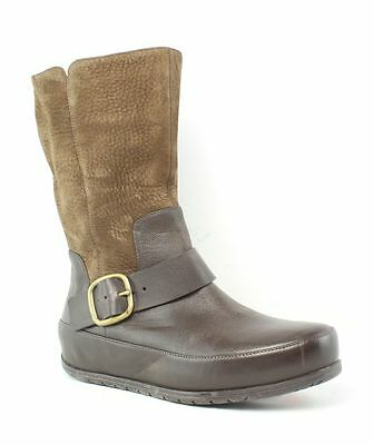 FitFlop Dueboot Brown Boots Womens size 7 M New $150